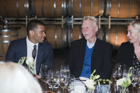Alaska Airlines Russell Wilson Dinner held at Columbia Winery, Woodinville, WA