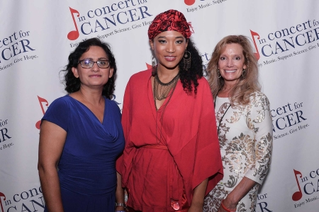 Dr. Vanda Kalia with Childrens Hospital, Judith Hill and Michele Abrahms